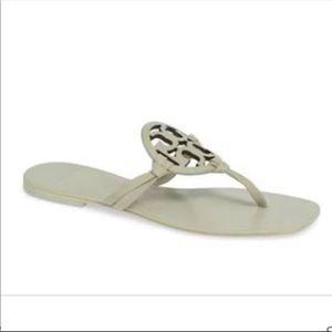 Tory Burch Women's Miller Square Toe Sandal